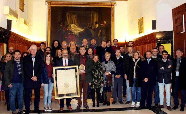 El Ayuntamiento de Murcia, encabezado por su alcalde, peregrina a Caravaca de la Cruz con motivo del Año Jubilar 2017