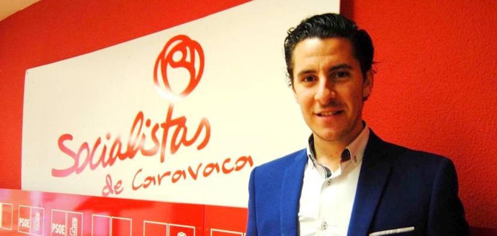 Juan Carlos Castillo Abril, nuevo Secretario General de las Juventudes Socialistas de Caravaca