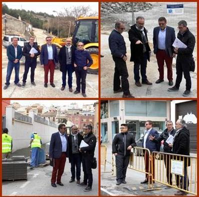 El Ayuntamiento ejecuta proyectos de reforma de firme y acerados dentro del Plan de Obras y Servicios