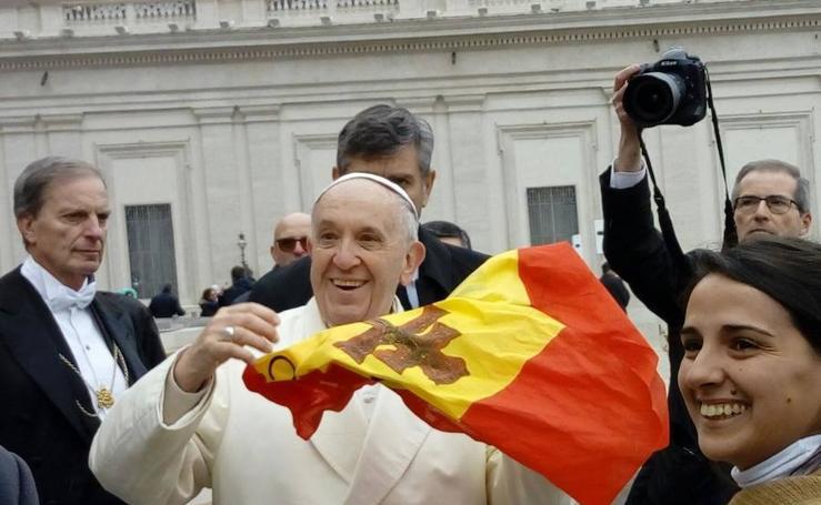 PEREGRINACIÓN A ROMA 11 Audiencia General con el Papa