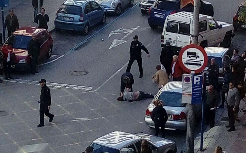 Atropellan a una mujer en Caravaca