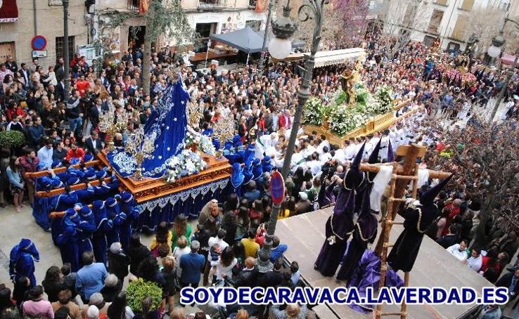 Procesión del Santo Encuentro - Plaza del Arco 1 - Viernes Santo 2018