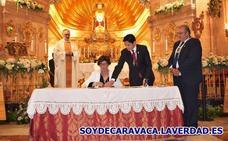 Hermanamiento de la Cofradía de la Vera Cruz con la Hermandad de la Virgen del Carmen de Mula