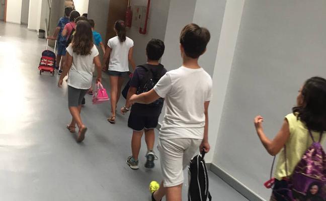 La escuela de verano se amplía este año a seis colegios