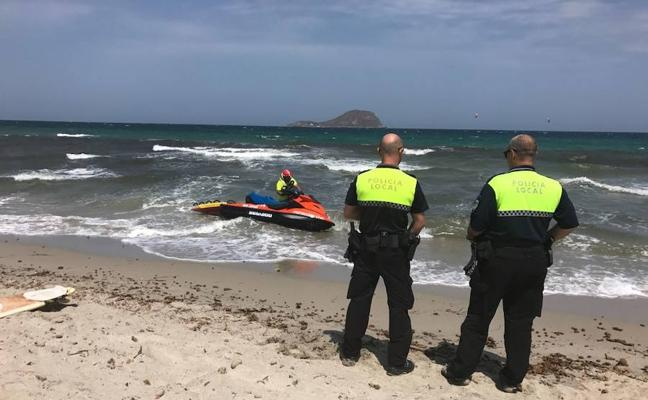 La Policía Local refuerza su presencia en playas
