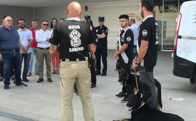 La Policía incorpora una unidad canina para combatir el menudeo de droga