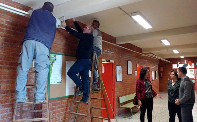Una reforma en el colegio de Balsicas acaba con los cortes eléctricos