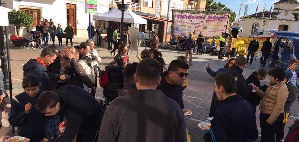 El Radio Maratón Solidario llama a la solidaridad de los vecinos
