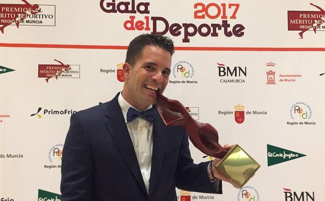 El pachequero Enrique Siscar, entre los mejores deportistas de 2017