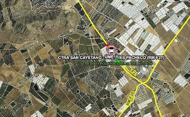 Dos heridos muy graves en un accidente en Torre Pacheco