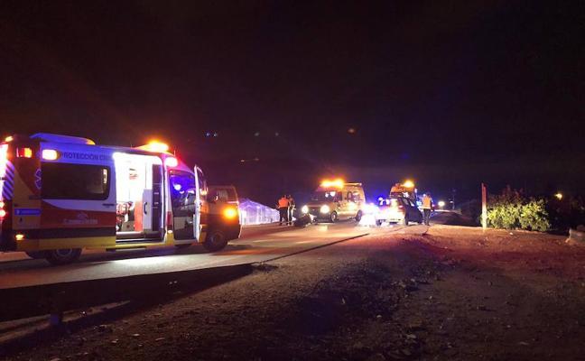 Heridos muy graves un ciclista y un motorista en una colisión en Torre Pacheco