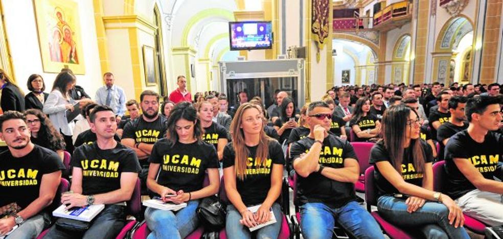 Mendoza garantiza el proyecto del UCAM, aunque baje