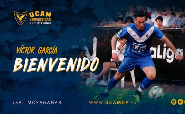 Víctor García, nuevo delantero del UCAM CF