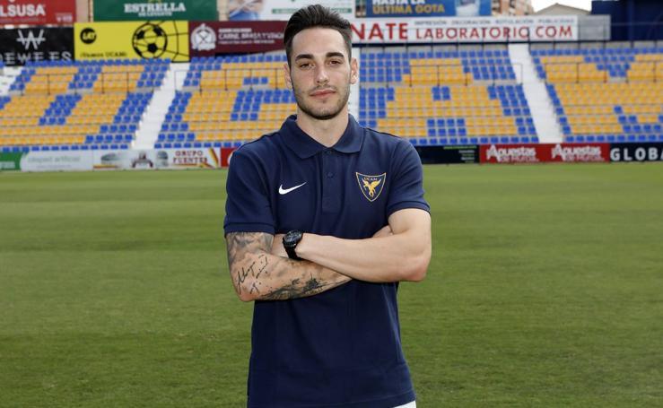 Víctor García, nuevo jugador del UCAM CF