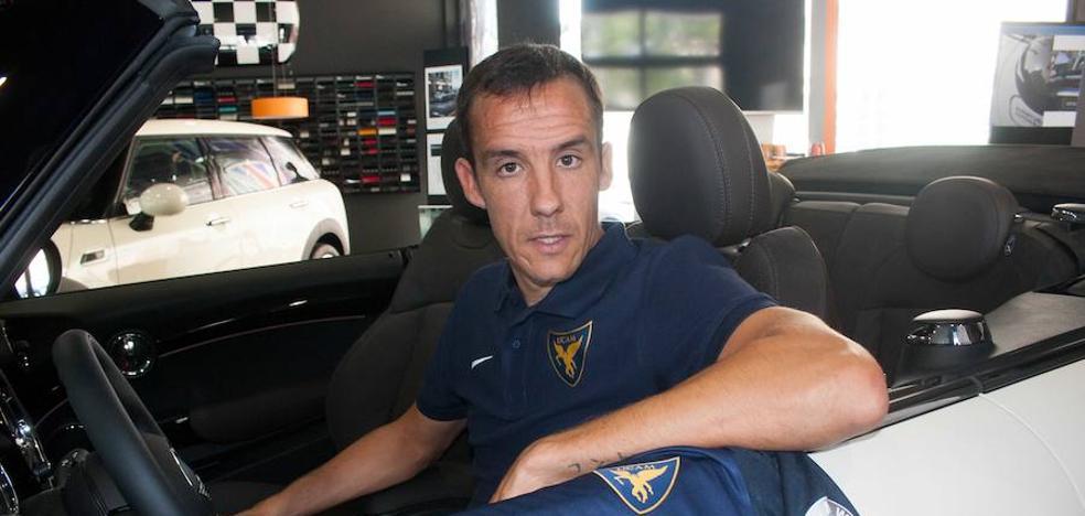 David López, al volante del UCAM