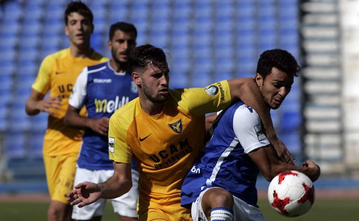 El UCAM CF se atasca en el feudo del Melilla