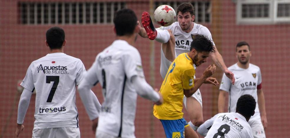 Las Palmas Atlético pone fin a la buena racha del UCAM