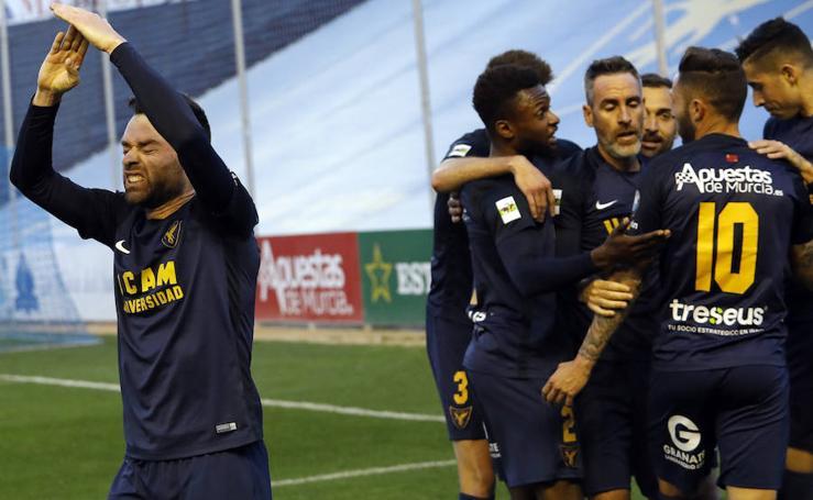 El UCAM consigue la victoria contra el Recreativo (2-1)