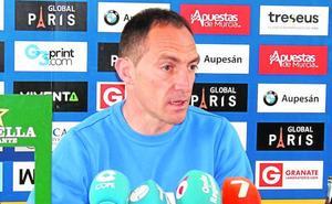 Pedro Munitis: «Debemos pelear toda opción, por mínima que sea, de entrar en el 'playoff'»