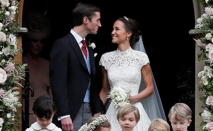 Boda de Pippa Middleton y James Matthews