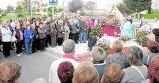 El rosario de la Aurora se celebró en el Quijero