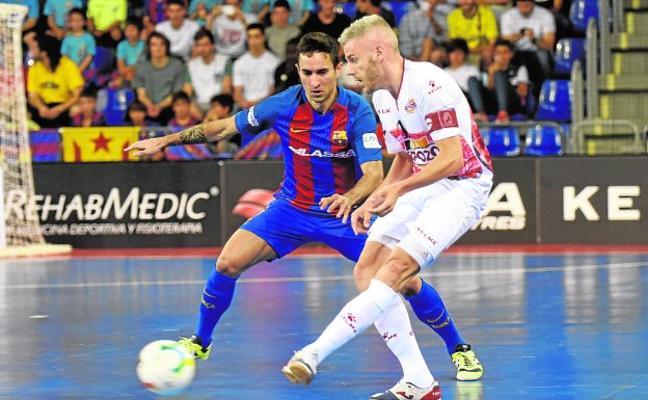 El Barça devora a un gris ElPozo