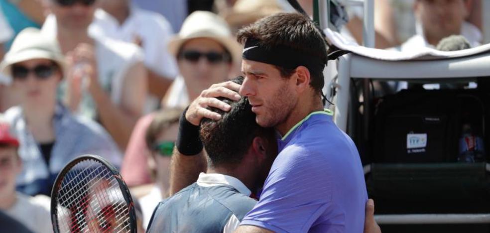 Almagro se rompe y se despide llorando de Roland Garros