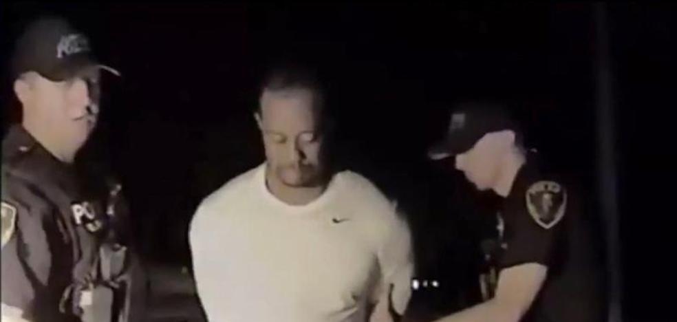Así iba Tiger Woods cuando fue detenido