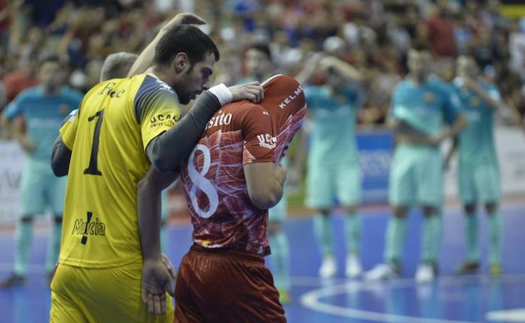 ElPozo dice adiós a la final de la Liga tras caer en los penaltis contra el Barcelona (2 (1) - 2 (3))