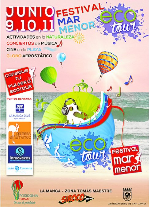 Cartel del Festival Mar Menor.