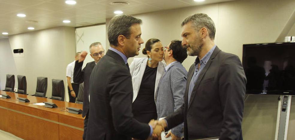Marcos Ortuña niega que participara en la toma de decisiones sobre Corvera