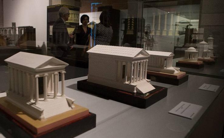 La historia de la arquitectura en maquetas