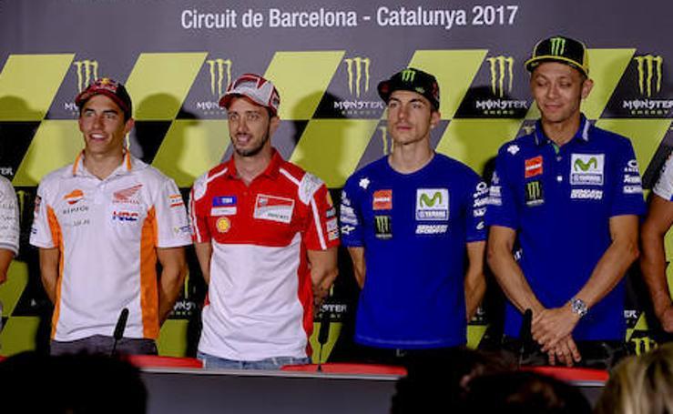 La presentación del GP de Cataluña, en imágenes