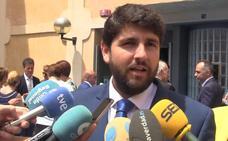 López Miras: «La Región solo sobrevivirá si dispone del agua que necesita»