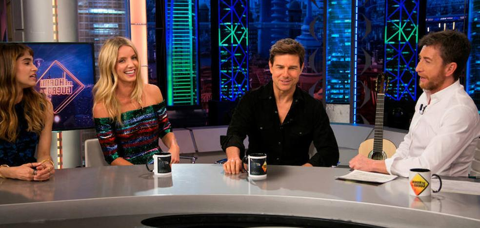 Tom Cruise mantiene su idilio con 'El Hormiguero'