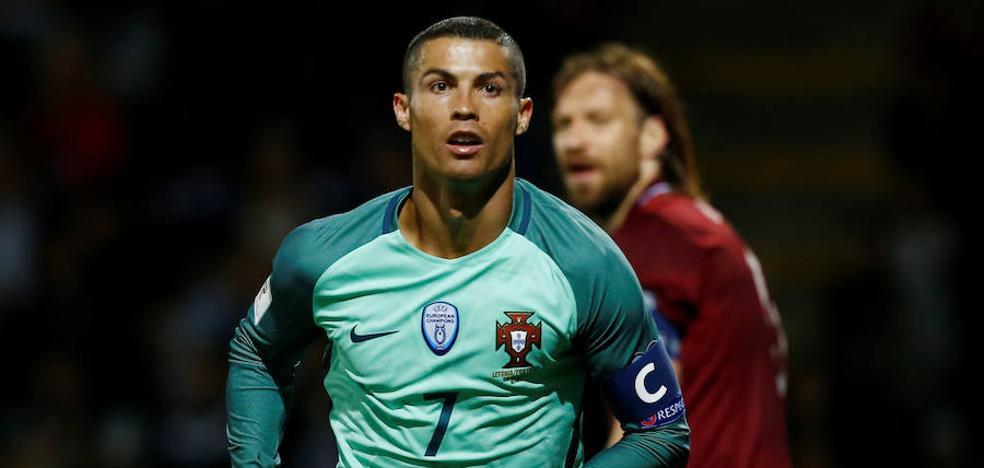 Cristiano Ronaldo, marca de oro en Portugal