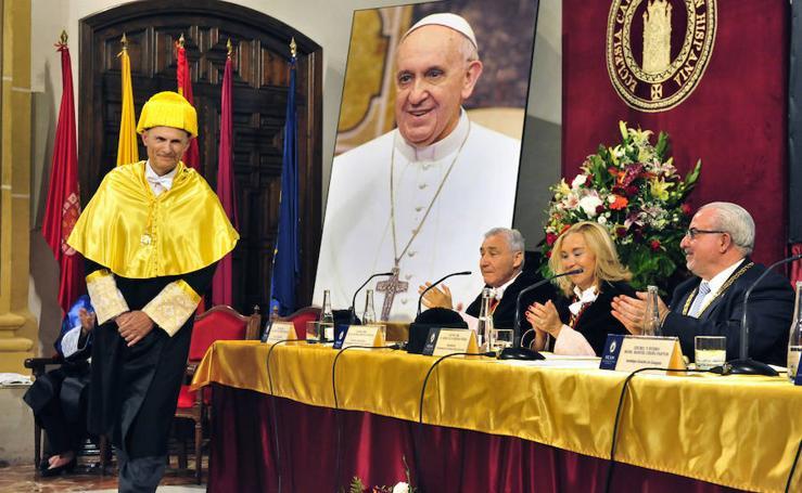La UCAM celebra San Antonio de Padua poniendo en valor el «fuerte impulso» de la investigación