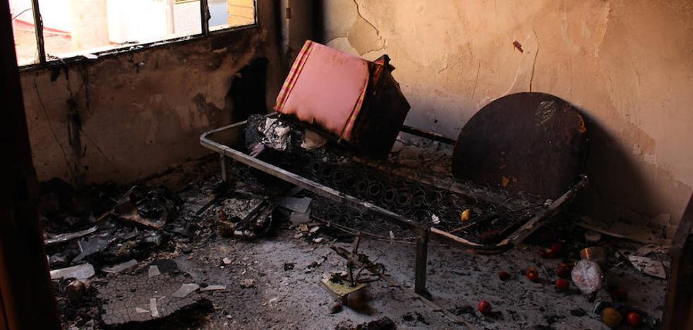 Detenido por intentar quemar vivo a un mendigo en una casa de Beniaján