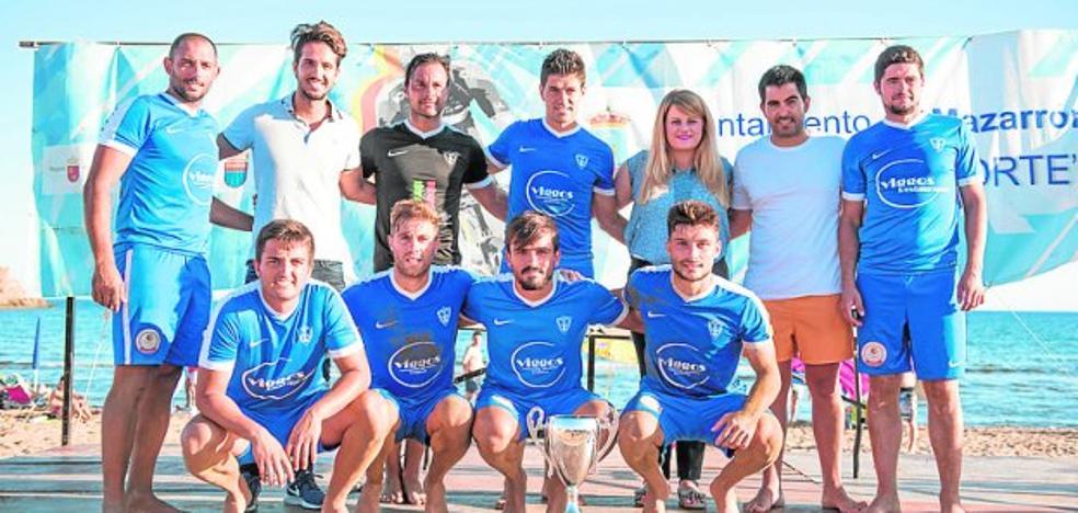 El Bala Azul y el Playas de Águilas suben al podio en el torneo de Mazarrón