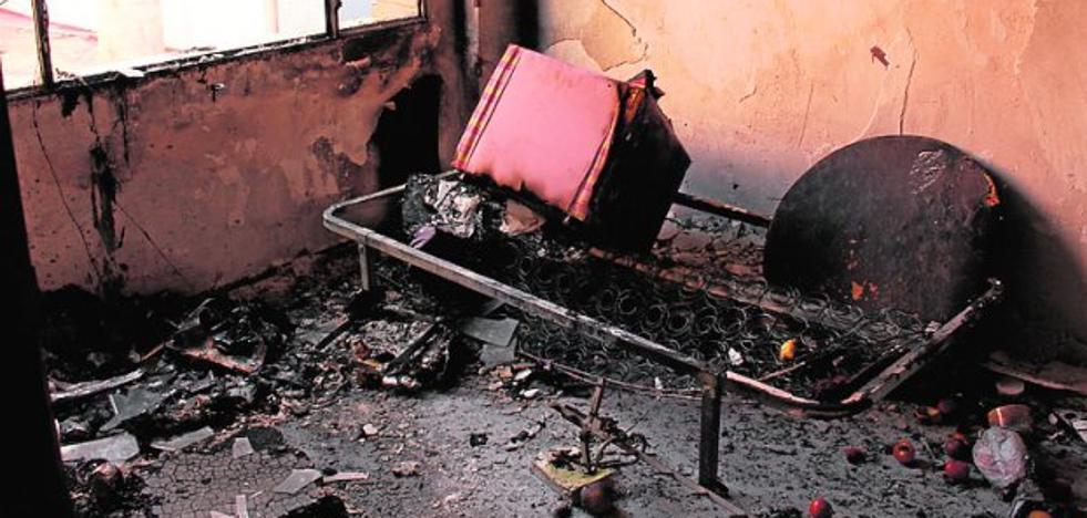 Ingresa en prisión por intentar quemar a un indigente en Beniaján