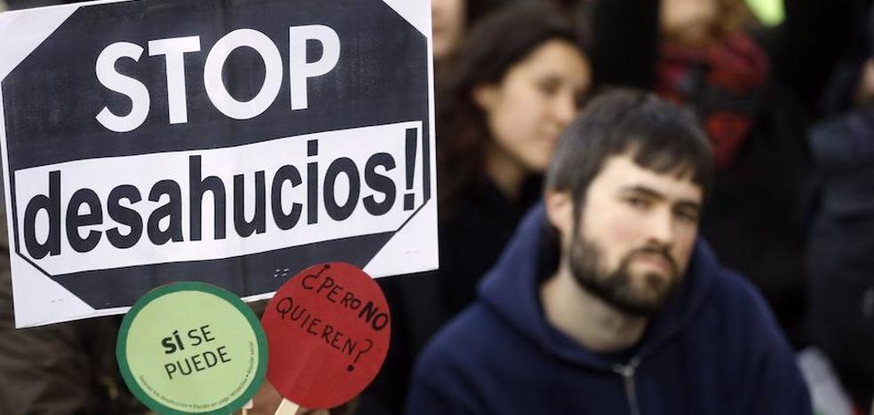 La PAH denuncia el aumento de los desahucios en la Región