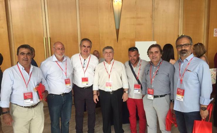 La delegación murciana en el congreso del PSOE