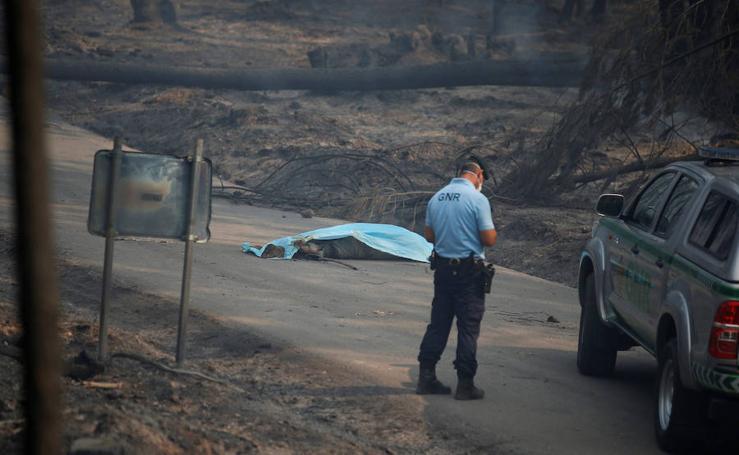 El espectacular incendio que devasta Portugal