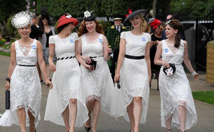 Las mujeres toman Ascot