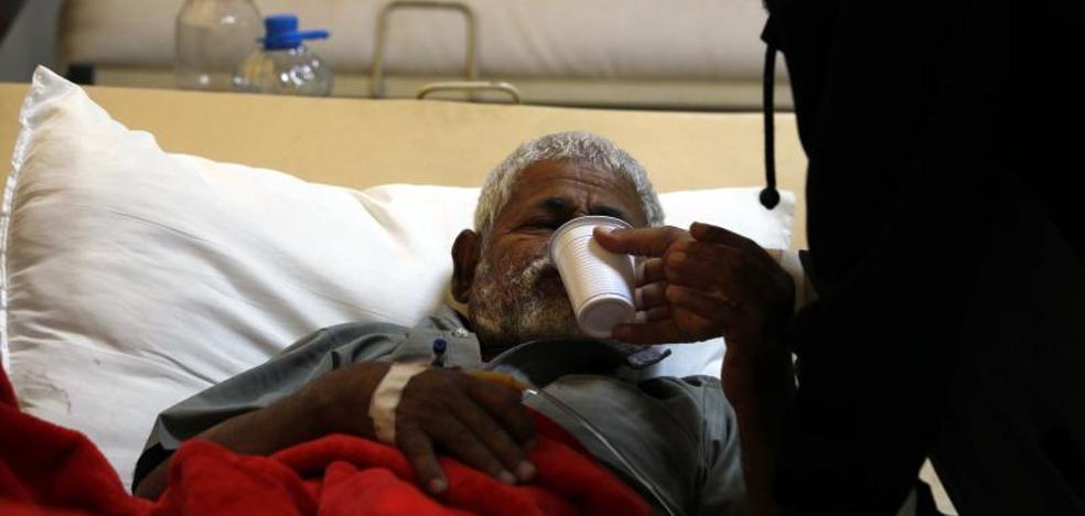 La OMS estima en más de 200.000 los casos sospechosos de cólera en Yemen