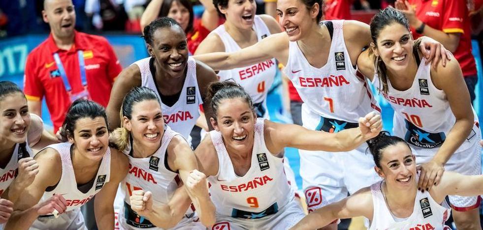 España se pasea ante Bélgica y peleará por el oro