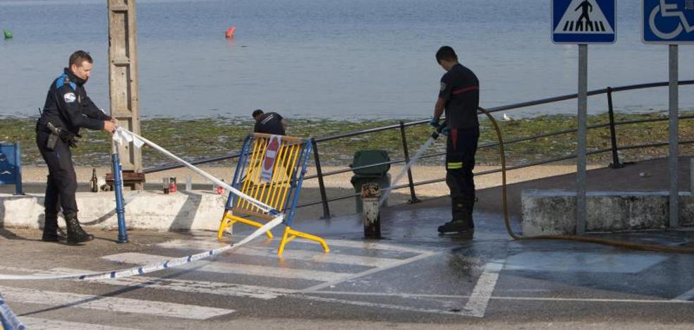 Muere un joven de 25 años por un disparo en Pontevedra en la noche de San Juan