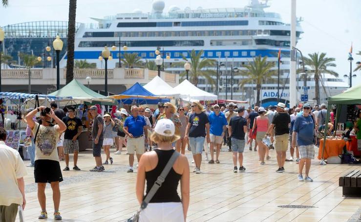 El gran desembarco en Cartagena