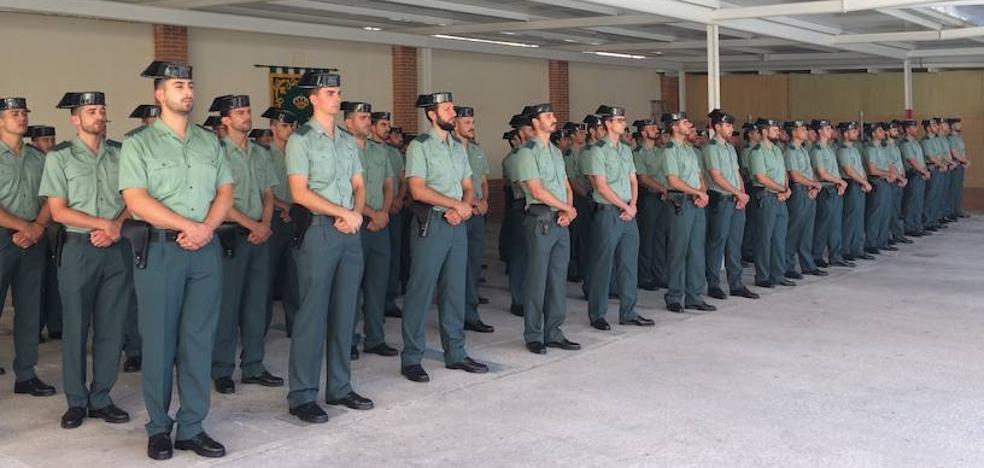 La Guardia Civil incorpora a 85 nuevos agentes en la Región