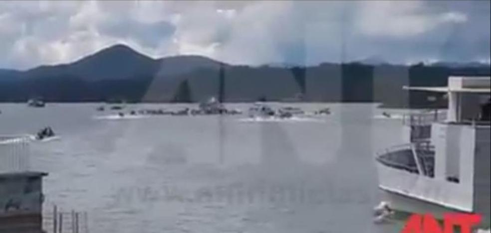 Al menos tres muertos y 30 desaparecidos en un naufragio en Colombia